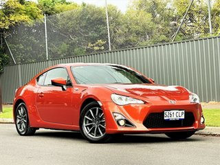 2016 Toyota 86 ZN6 GT Orange 6 Speed Sports Automatic Coupe.