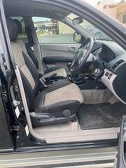 2015 Mitsubishi Triton MN MY15 GLX Black Manual Dual Cab