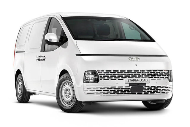New Hyundai Staria 2.2D Rutherford, 2021 Hyundai Staria Staria-Load Creamy White 8 Speed Automatic Van