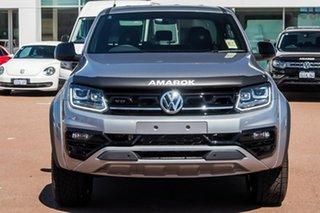 2021 Volkswagen Amarok 2H MY21 TDI580 4MOTION Perm W580 Pyrit Silver Metallic 8 Speed Automatic.