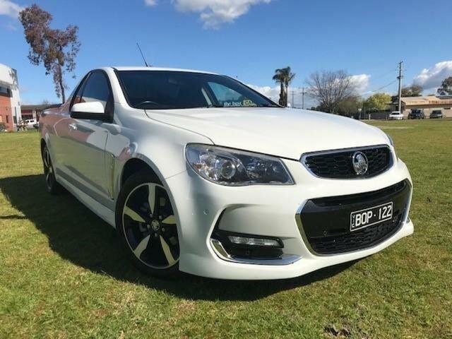 Used Holden Ute VF MY15 SV6 Wangaratta, 2014 Holden Ute VF MY15 SV6 6 Speed Automatic Utility