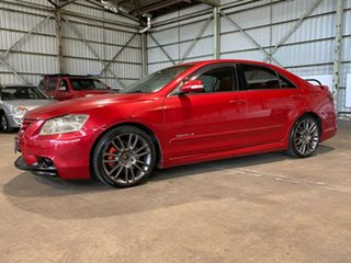 2007 TRD Aurion GSV40R 3500S Red 6 Speed Sports Automatic Sedan.