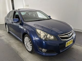 2009 Subaru Liberty B5 MY10 2.5i Sports Lineartronic AWD Premium Blue 6 Speed Constant Variable.