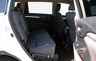 2017 Toyota Kluger GSU55R MY17 GX (4x4) Crystal Pearl 8 Speed Automatic Wagon