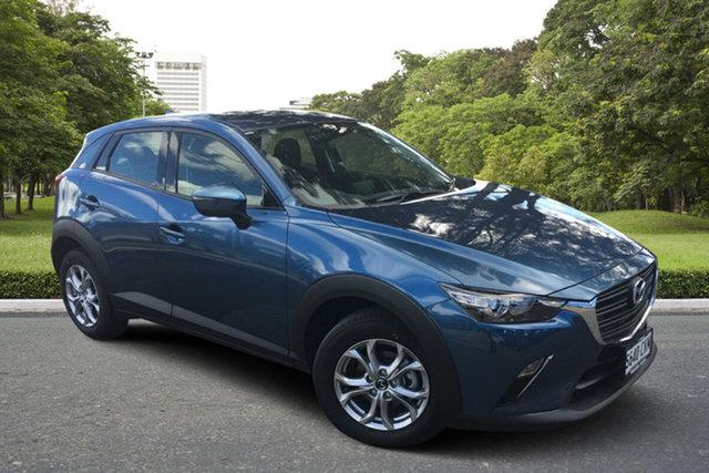 Demo Mazda CX-3 DK2W7A Maxx SKYACTIV-Drive FWD Sport Paradise, 2021 Mazda CX-3 DK2W7A Maxx SKYACTIV-Drive FWD Sport Eternal Blue 6 Speed Sports Automatic Wagon