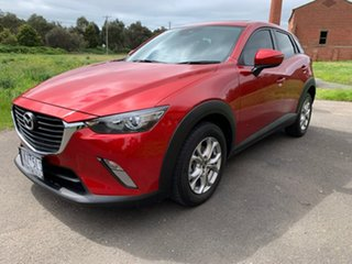 2017 Mazda CX-3 DK Maxx Red Sports Automatic Wagon.