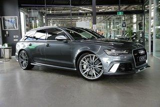 2018 Audi RS6 4G MY18 performance Avant Tiptronic Quattro Grey 8 Speed Sports Automatic Wagon.