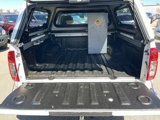 2014 Nissan Navara D40 MY12 ST (4x2) White 5 Speed Automatic Dual Cab Pick-up