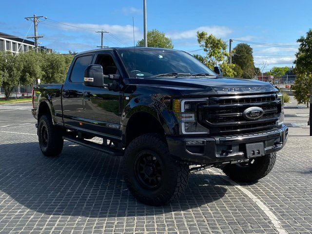 Used Ford F350 South Melbourne, 2020 Ford F350 (No Series) Lariat Sport Black Automatic Utility