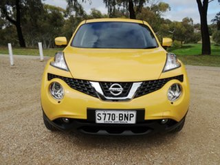2016 Nissan Juke F15 Series 2 Ti-S X-tronic AWD Yellow 1 Speed Constant Variable Hatchback.