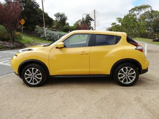 2016 Nissan Juke F15 Series 2 Ti-S X-tronic AWD Yellow 1 Speed Constant Variable Hatchback