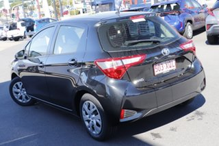 2017 Toyota Yaris NCP130R Ascent Black 4 Speed Automatic Hatchback
