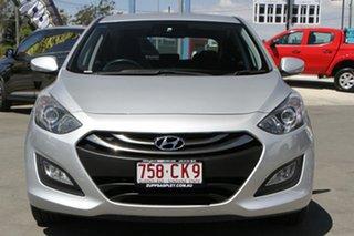 2013 Hyundai i30 GD MY14 Elite Silver 6 Speed Sports Automatic Hatchback.