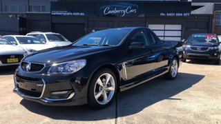 2015 Holden Ute VF II SS Black 6 Speed Automatic Utility.