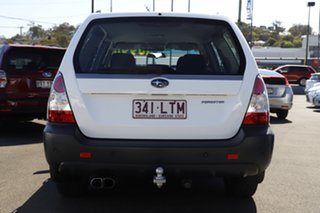 2006 Subaru Forester 79V MY06 X AWD Pure White 4 Speed Automatic Wagon