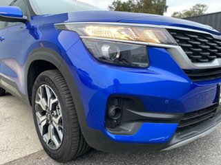 2021 Kia Seltos SP2 MY21 Sport+ 2WD Neptune Blue 1 Speed Constant Variable Wagon.