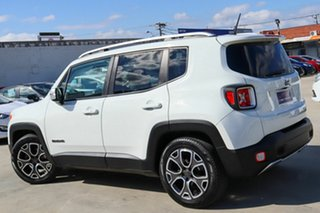 2015 Jeep Renegade BU MY15 Limited DDCT White 6 Speed Sports Automatic Dual Clutch Hatchback