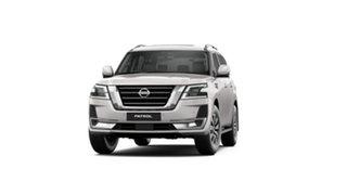 2021 Nissan Patrol Y62 MY21 TI-L Moonstone White 7 Speed Sports Automatic Wagon.