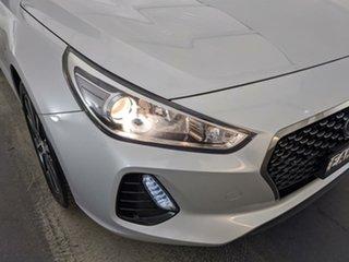 2018 Hyundai i30 PD.3 MY19 N Line D-CT Premium Silver 7 Speed Sports Automatic Dual Clutch Hatchback.