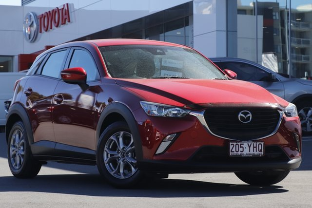 Pre-Owned Mazda CX-3 DK2W7A Maxx SKYACTIV-Drive Woolloongabba, 2018 Mazda CX-3 DK2W7A Maxx SKYACTIV-Drive Soul Red 6 Speed Sports Automatic Wagon