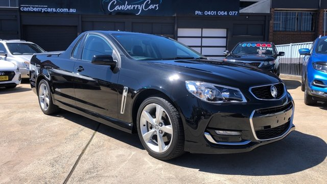 Used Holden Ute VF II SS Phillip, 2015 Holden Ute VF II SS Black 6 Speed Automatic Utility