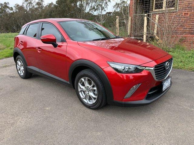 Used Mazda CX-3 DK Maxx Geelong, 2017 Mazda CX-3 DK Maxx Red Sports Automatic Wagon