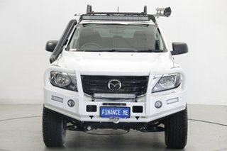 2019 Mazda BT-50 UR0YG1 XT White 6 Speed Manual Utility.
