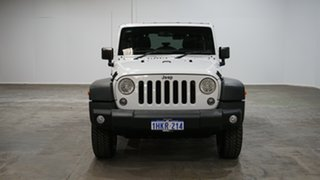 2015 Jeep Wrangler JK MY2015 Unlimited Sport White 6 Speed Manual Softtop