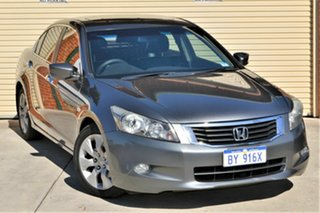 2010 Honda Accord 8th Gen MY10 VTi Grey 5 Speed Sports Automatic Sedan.