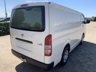 2017 Toyota HiAce KDH201R LWB White/040517 4 Speed Automatic Van.