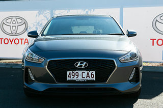 2018 Hyundai i30 PD Active Grey 6 Speed Auto Sequential Hatchback.