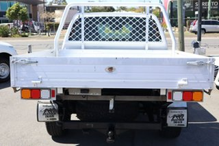 2013 Nissan Navara D40 S8 RX White 5 Speed Automatic Cab Chassis
