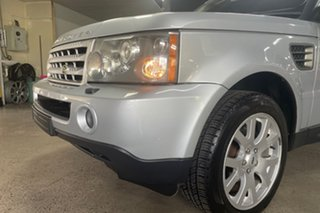 2007 Land Rover Range Rover Sport L320 08MY TDV6 Silver 6 Speed Sports Automatic Wagon.