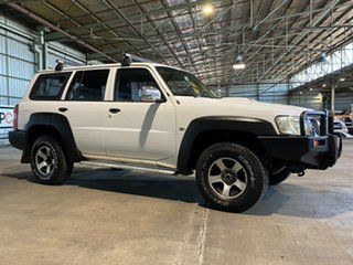 2005 Nissan Patrol GU IV MY05 DX White 4 Speed Automatic Wagon.