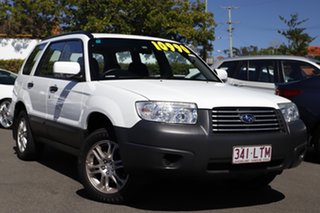 2006 Subaru Forester 79V MY06 X AWD Pure White 4 Speed Automatic Wagon.