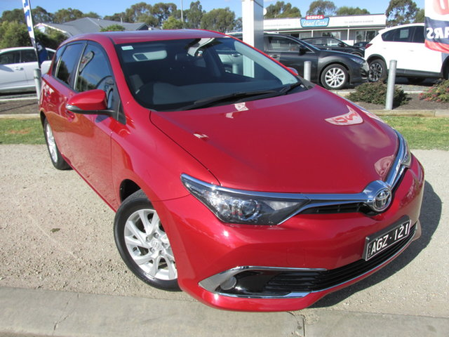 Used Toyota Corolla ZRE182R MY15 Ascent Sport Echuca, 2015 Toyota Corolla ZRE182R MY15 Ascent Sport Red 7 Speed CVT Auto Sequential Hatchback