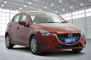 2019 Mazda 2 DJ2HA6 Neo SKYACTIV-MT Soul Red 6 Speed Manual Hatchback.