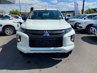 2021 Mitsubishi Triton MR MY21 GLX+ Club Cab White 6 Speed Sports Automatic Utility.