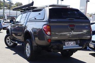 2014 Mitsubishi Triton MN MY15 GLX-R Double Cab Bronze 5 Speed Manual Utility.