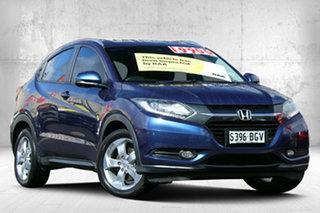 2015 Honda HR-V MY15 VTi-S Morpho Blue 1 Speed Constant Variable Hatchback.
