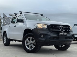 2018 Mercedes-Benz X-Class 470 X250d 4MATIC Pure White 7 Speed Sports Automatic Utility.