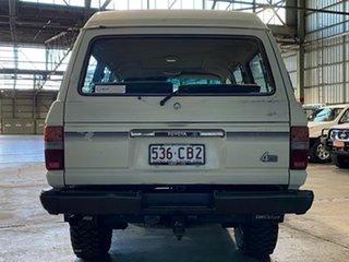 1985 Toyota Landcruiser FJ62RG Sahara White 5 Speed Manual Wagon
