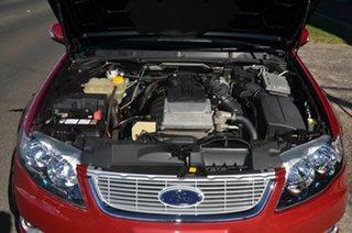 2009 Ford Falcon FG G6E Red 6 Speed Automatic Sedan