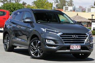 2019 Hyundai Tucson TL3 MY19 Highlander AWD Dusk Blue 8 Speed Sports Automatic Wagon.