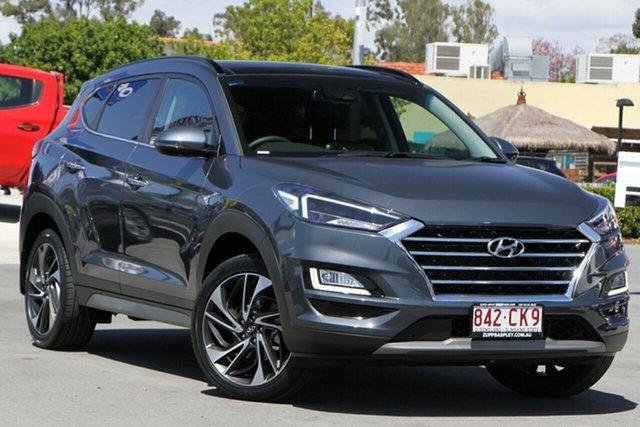 Used Hyundai Tucson TL3 MY19 Highlander AWD Aspley, 2019 Hyundai Tucson TL3 MY19 Highlander AWD Dusk Blue 8 Speed Sports Automatic Wagon