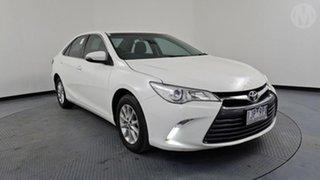2017 Toyota Camry ASV50R MY16 Altise White 6 Speed Automatic Sedan