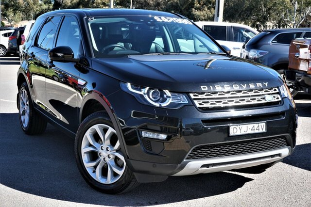 Used Land Rover Discovery Sport L550 17MY HSE Phillip, 2017 Land Rover Discovery Sport L550 17MY HSE Black 9 Speed Sports Automatic Wagon