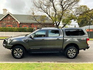 2017 Ford Ranger PX MkII Wildtrak Double Cab Meteor Grey 6 Speed Sports Automatic Utility