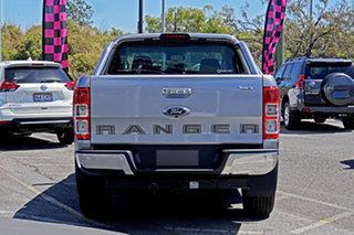 2021 Ford Ranger PX MkIII 2021.25MY XLT Hi-Rider Aluminium Silver 6 Speed Sports Automatic