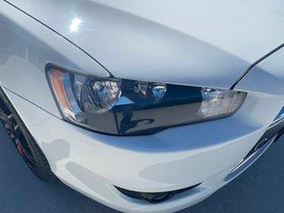 2012 Mitsubishi Lancer CJ MY13 LX Sportback White 5 Speed Manual Hatchback